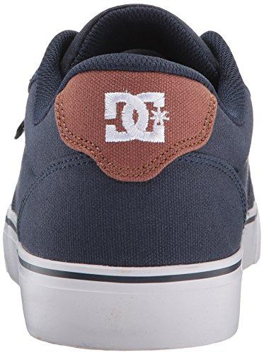 Dc Mens Incudine Tx Skate Shoe Navy / Cioccolato Fondente