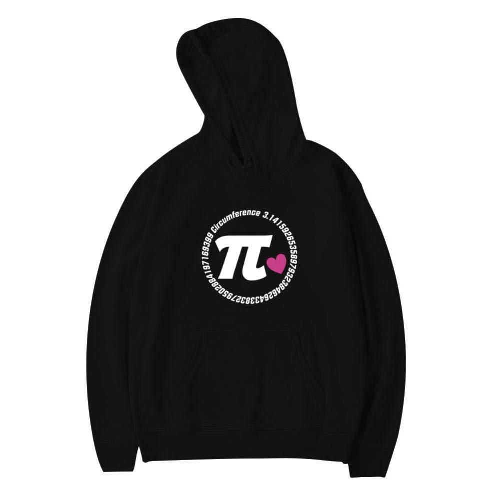 TVFUKP Youth//Kid Hooded Pirate Pi Day Sweatshirt Fleece Pullover Hood