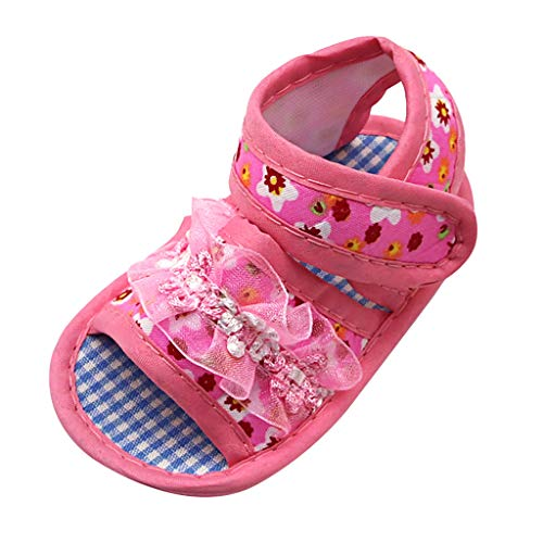 BOLMI Newborn Girls Baby Cute Cartoon Bear Sneaker Toddler Kid Single Shoes Soft Sole Sandals Comfortable Crib Shoes
