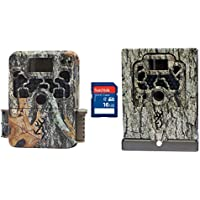Browning Trail Cameras Strike Force Elite Game Camera + Security Box & SD Card