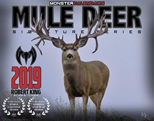 2019 Mule Deer Calendar of Monster Bucks by Monster Calendars/Robert King -