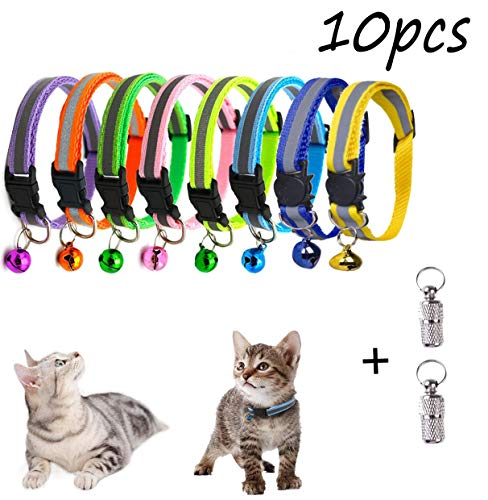 🥇 Unique'store 8 pcs Collar para Gato