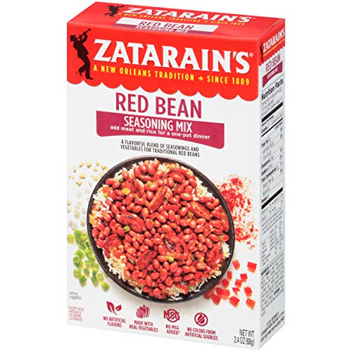 Zatarain's Red Bean Seasoning, 2.4 oz (Pack of 12) ()