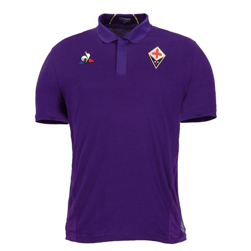 Le Coq Sportif 2018-2019 Fiorentina Home Football Soccer T-Shirt Trikot (Kids)