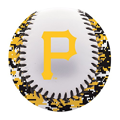 (Franklin Sports Pittsburgh Pirates Baseball Teeball - Soft Strike - Digi Camo Graphic PVC Cover - Soft Core - MLB Official Licensed Product)