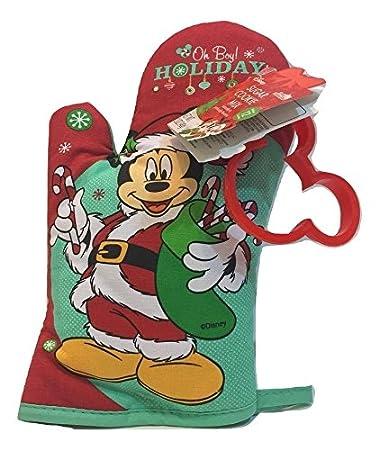 Amazon Com Disney S Mickey Mouse Christmas Sugar Cookie Kit