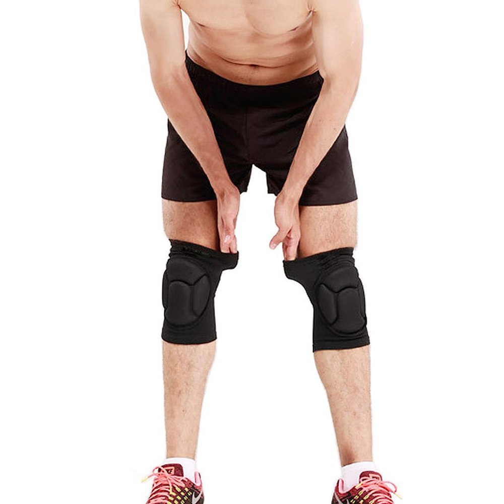 Black Aodatu Knee Pads Volleyball Dancers Handball Girl Boy Man Woman Knee Pad Work