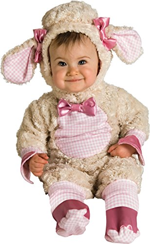 [Baby Girls Lamb Costume, Pink, 12 - 18 months] (18 Month Old Lamb Costume)