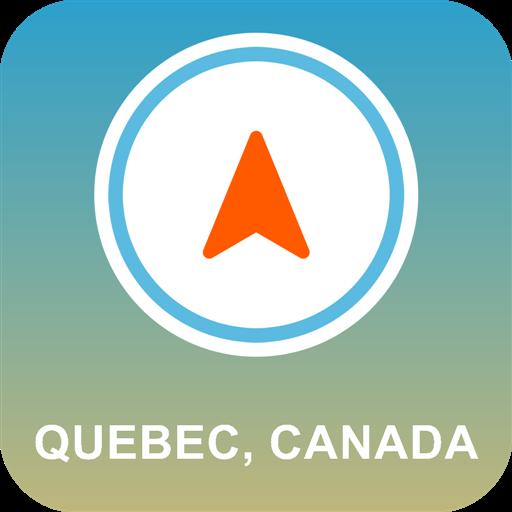 Quebec, Canada Offline GPS