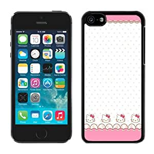 Cute-Pink-Hello-Kitty Black For Iphone 6 Plus Phone Case Cover Screen Cover Case and Fashion Design