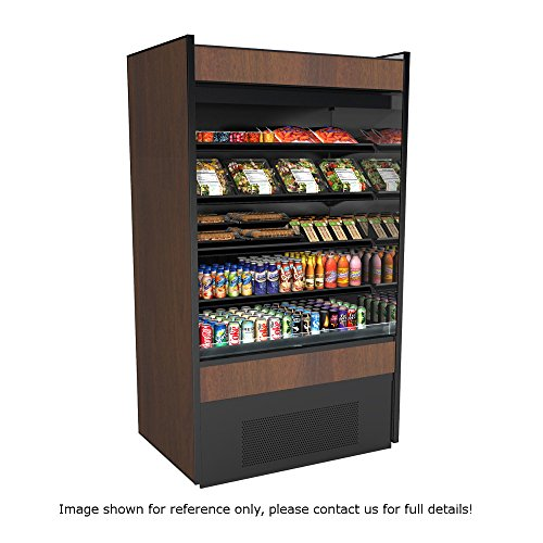 "Price comparison product image Structural Concepts B5932-QS Quick Ship Oasis Self Service Refrigerated Merchandiser,  High Profile,  59-5 / 8 W x 32"" D"