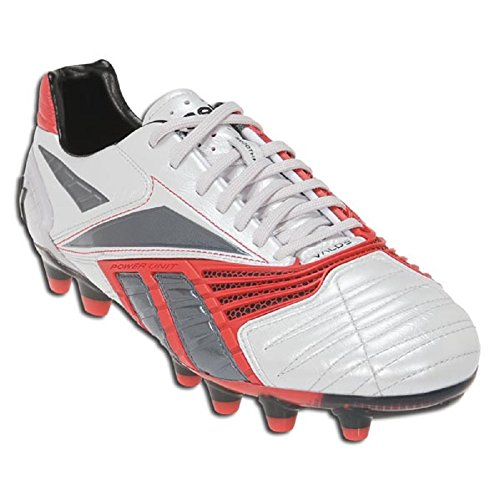 Reebok Mens Valde Ii Hg Soccer Cleat Steel/Metallic Red/Dark Graphite/Black hBfASDW