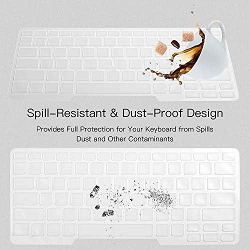 Dell Latitude - Funda para teclado Dell Latitude E7450 E7470 E5470 E7480 E5450 E5491 5480 5490 7490, Dell 3340 E3340 - Protector de teclado para ordenador portátil, transparente (diseño de EE. UU., con apuntador) 7