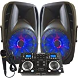 Light Em\' UP! - Dj System - Lighted Powered 15\