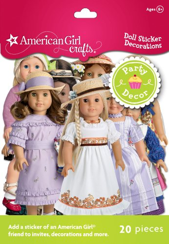 American Girl Crafts Doll Sticker Decorations