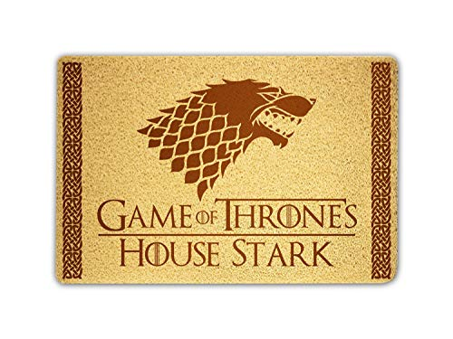 Game Of Thrones House Stark Doormat Sweet Home Supplies Décor Accessories Unique Gift Handmade Present Idea Original Design Commercial Outside Inside Personalized Quotes Exterior