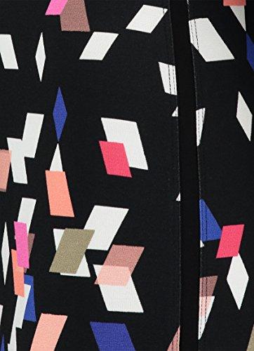 Multicolour Rosa Print Claudia Damen Kleid mit Jersey Sträter 4Zxxqw8RO