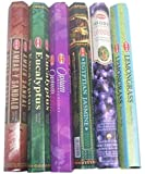 HEM Incense Sticks Best Sellers 6 Boxes X 20 Grams, Variety Pack, Total 120 Gm (#2)