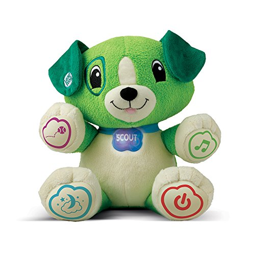 Strict Leapfrog My Pal Scout English Speaking Registrazione Peluche Peluche Nuovo Da 6 Mesi