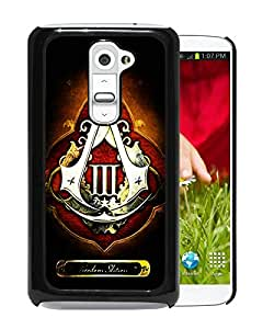 Fashionable And Unique Designed Cover Case With assassins creed 3 freedom edition Black For LG G2 Phone Case