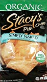 Stacy's Organic Pita Chips ''Simply Naked'' 28 Oz. Bag - 3 Pack