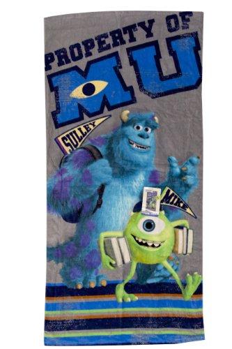 (Disney Monsters University Back to School Beach Towel - 28