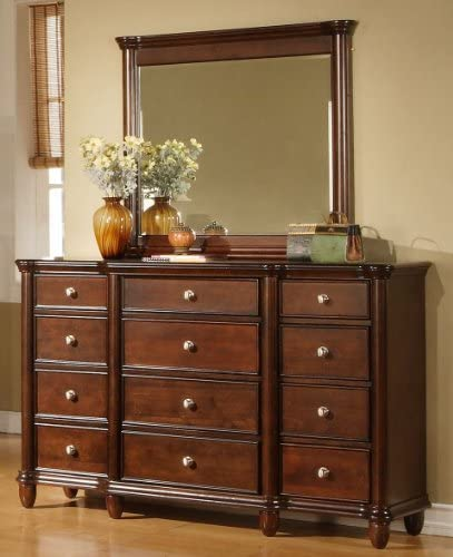 Elements Hansen Dresser and Mirror