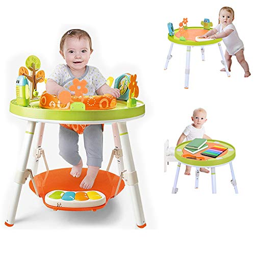 Why Should You Buy 3-in-1 Jump Gym for Baby - 360-degree Rotating Seat 3-Stage Interactive Activity ...