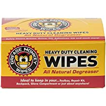 Grease Monkey Individual Heavy-Duty Multi-Purpose Cleaning Wipes (Box of 24)
