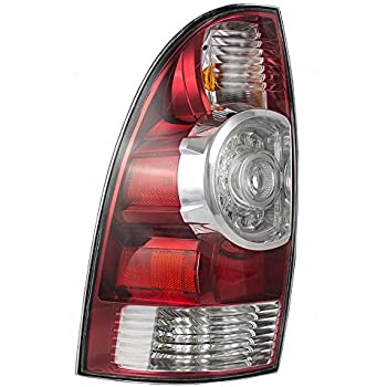 Drivers Taillight Tail Lamp with LED Center Lens Replacement for Toyota Tacoma Pickup Truck 8156004160