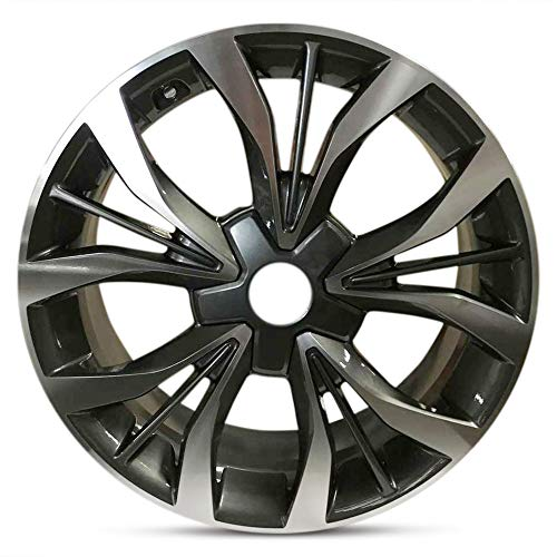 Road Ready Car Wheel For 2015-2017 Hyundai Sonata Full Size Spare 18 Inch 5 Lug Aluminum Rim Fits R18 Tire - Exact OEM Replacement - Full-Size Spare