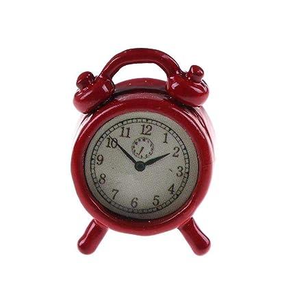 Alarm Clocks for Bedrooms - Creative Alarm Clock Cute Mini Metal Small Alarm Clock Electronic Small