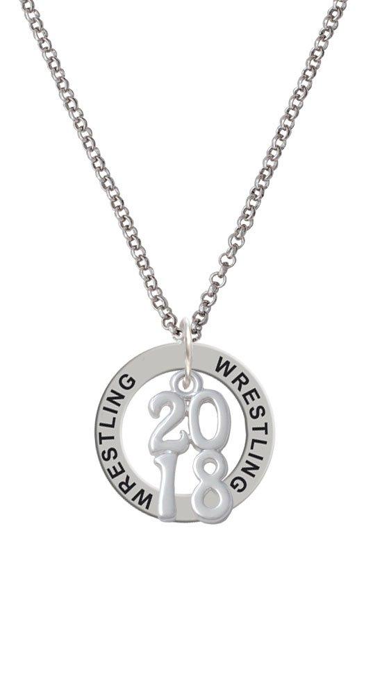 Vertical Year - 2018 - Wrestling Affirmation Ring Necklace
