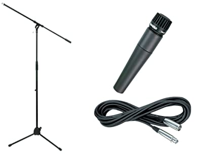 Shure SM57 Microphone with Stand and Cable