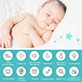 """Baby Monitor, Video Baby Monitor 2.4""""HD LCD Screen, Baby Monitors with Camera and Audio Night Vision,Support Multi Camera,ECO Mode,Two Way Talk Temperature Sensor,Built-in Lullabies (New Vision)"""
