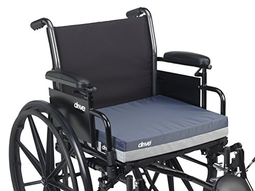 Drive Medical 14891 Skin Protection Gel ''E'' Wheelchair Seat Cushion, 16 x 16 x 3 Inch by Drive Medical (Image #4)