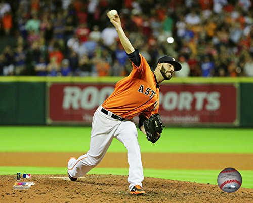 "Mike Fiers Houston Astros 2015 MLB No Hitter Photo (Size: 20"" x 24"")"