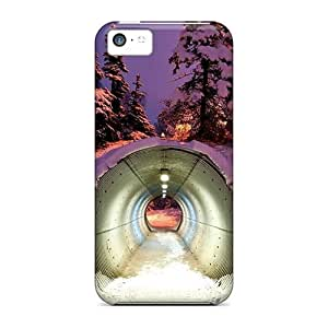 BestSellerWen diy caseCase Cover Protective Snow Tunnel Case For iPhone 5 5s