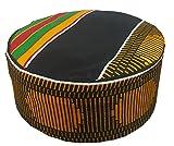 Decoraapparel Traditional African Hat Kente Pattern Dashiki Cap Kufi Kofi