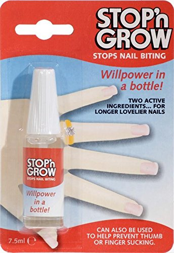 STOP N GROW nail biting deterrent-PACK OF 3