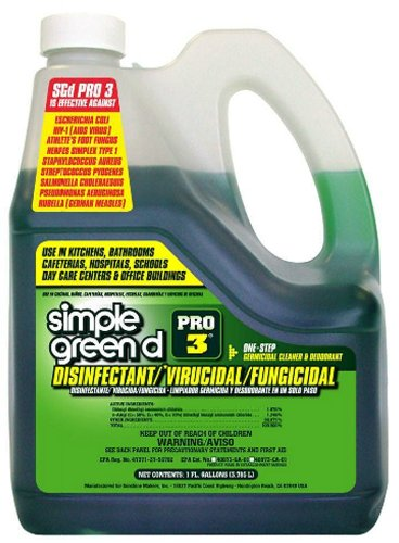 Simple Green 30320 D Pro 3 Disinfectant/Virucidal/Fungicidal