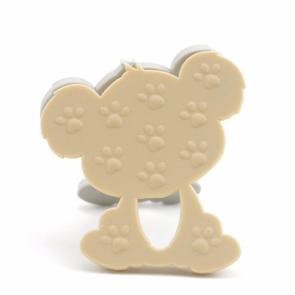 Mamimami Home 5pc Dentition Silicone Koala DIY Collier Allaitement Bracelet de Dentition Attache T/étine Pendentif Jouet Bebe Gym