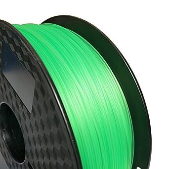 Filamento para impresora 3D de 1,75 mm, filamento ABS verde ...