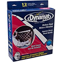 Dynamat 10435 12 x 36 x 0.067 Thick Self-Adhesive Sound Deadener with Xtreme Door Kit
