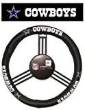 Dallas Cowboys Leather Car Truck SUV Steering Wheel Cover