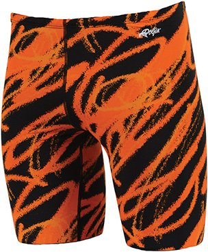 Dolfin Swimwear Ceres Printed Jammer - Orange Ceres, 36