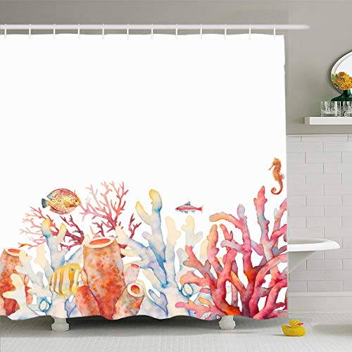 (Ahawoso Shower Curtains 66