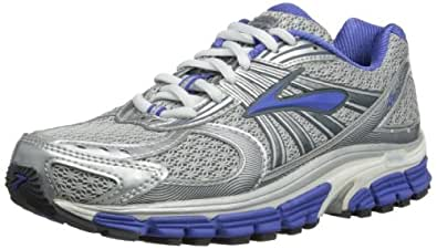 Image Unavailable. Image not available for. Color: Brooks Women's Ariel 12  Slv/Ombrblu/Dzlngblu/Lnrrk Running Shoe ...