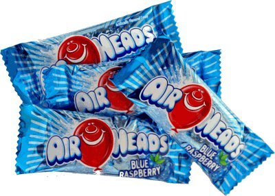 Airheads – Blue Raspberry Mini Bars – Bulk 5lb