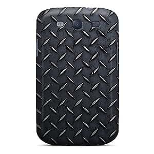 Galaxy Case - Tpu Case Protective For Galaxy S3- Metallic Texture